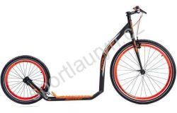 Koloběžka URBAN - Černo/oranžová