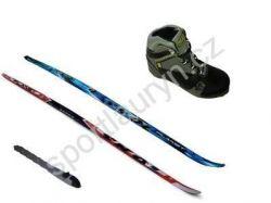 Set SKOL - běžky STEP a WAX, vázání RS, boty RS