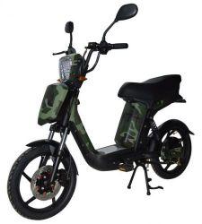 Elektrický motocykl RACCEWAY E-BABETA, maskáč zelený