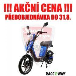 Elektroskútr RACCEWAY E-BABETA, modrá-lesklá