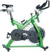 Cyklotrenažér inSportline Epsilon zelený/šedý
