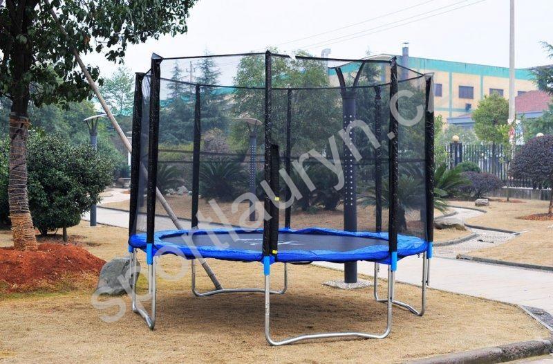 ACRA Venkovní trampolína s ochrannou sítí 429 cm Acra