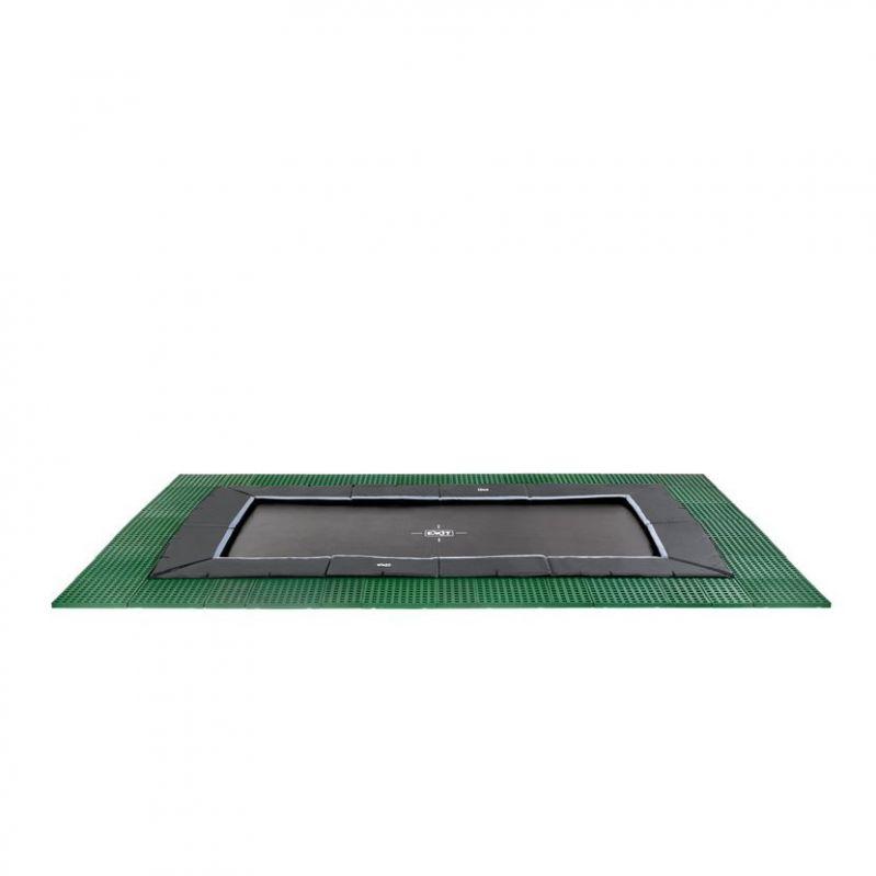 Trampolína EXIT Dynamic Ground Level 275 x 458 cm s dopadovou zónou - dostupnost Květen